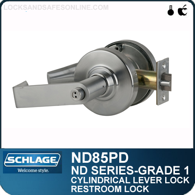 Heavy Duty Faculty Restroom Lever Locks Schlage Nd85pd