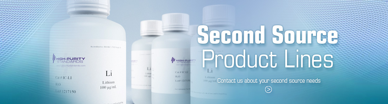 Second Source Product Lines