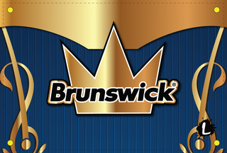 Brunswick Blue/Gold Dye Sublimated Banner