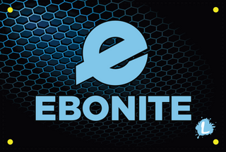 Ebonite Mesh Dye Sublimated Banner