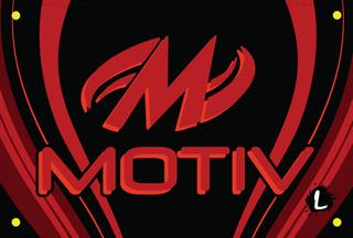 Motiv Red/Black Dye Sublimated Banner