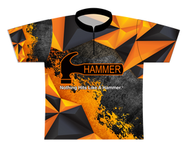 Hammer Orange Polygon EXPRESS Dye Sublimated Jersey