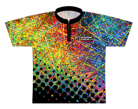 Junior Gold Silly String - Rainbow Dye Sublimated Jersey