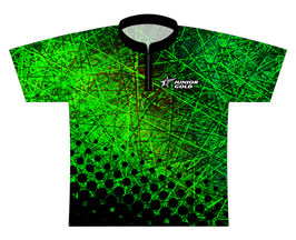 Junior Gold Silly String - Forest Dye Sublimated Jersey