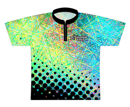 Junior Gold Silly String - Pastel Dye Sublimated Jersey