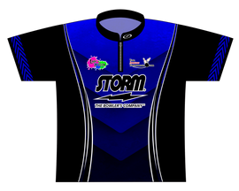 July TAT 2017 Blue Dye Sublimated Jersey - SASH