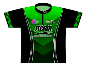 July TAT 2017 Green Dye Sublimated Jersey - SASH