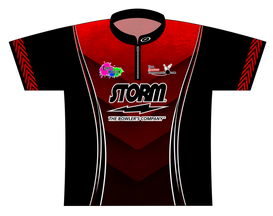 July TAT 2017 Red Dye Sublimated Jersey - SASH