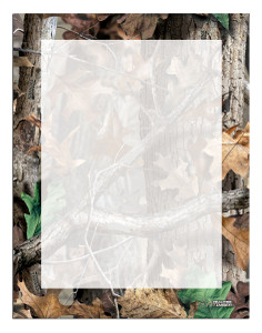 Letterhead Advantage Timber® Camo (Border)