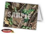 Realtree Camo Thank You Card or Great for an invitation for a party