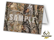 Realtree Camo Thank you or invitation for a event