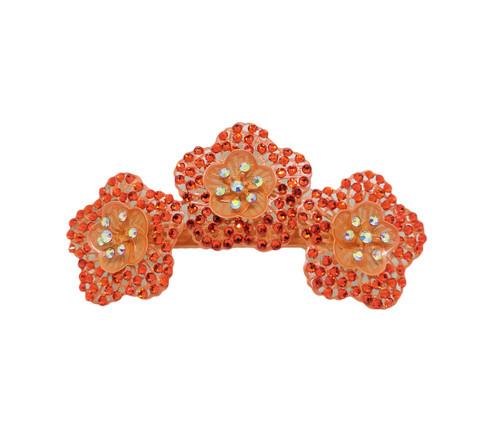 Crochet Effect Crystal Clip