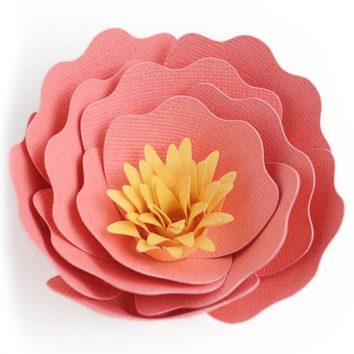 3D Flower Peony 2