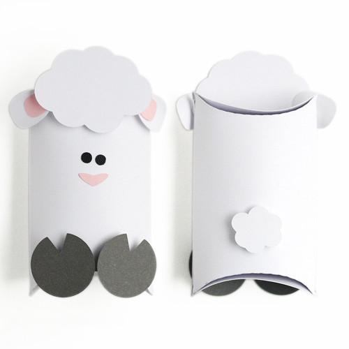 Lamb Pillow Box