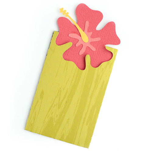 Hibiscus Gift Card Envelope
