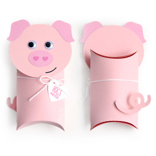 Pillow Box: Pig
