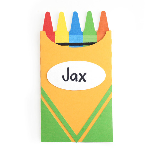 Crayon Box Gift Card Envelope