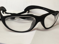 Lead Frame for Rose Loupes - Black - REGULAR