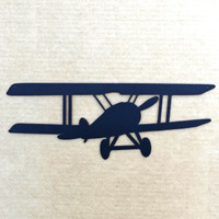 Biplane Metal Wall Art (2A)