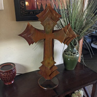 Beautiful 3 Layer Cross on a Base