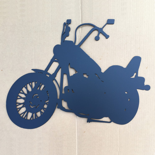 Motorcycle Metal Wall Art (W14)