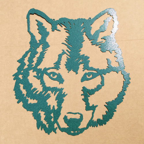 Wolf Metal Wall Art (E8)