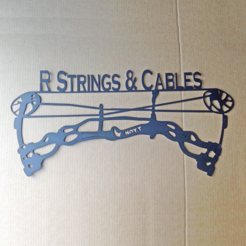 Hoyt Compound Bow with Custom Text