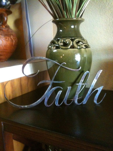 Metal Word Faith / Word of Inspiration