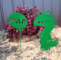 RAR Metal Garden Stake (Q6)