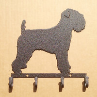 Terrier Key Holder Metal (B28)