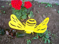 Giant 3D Bumble Bee Metal Art (C1)