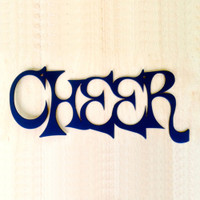Cheer Metal Wall Art (H1)