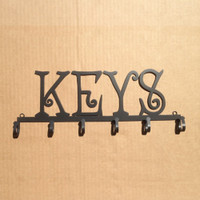 Key Holder Metal 6 Hooks (J21)