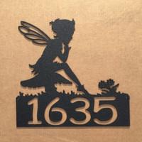 Fairy Address Sign