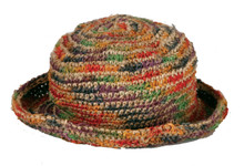 PHHC  -  100% Hemp Hat With Secret Pocket  Assorted Colors