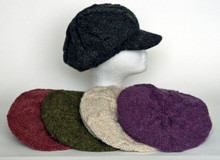 : OUT OF STOCK - PWC  -  Hemp/Wool Cap - Assorted