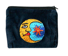 "SMCP  -  Moon Coin Purse 5"" x 4"""
