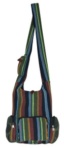 "H9-15  -  Alpaca Hand Bag Assorted Colors 16"" x 13"""