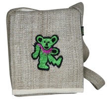 "SDB  -  Small Dancing Bear Hand Bag Assorted Colors 7"" x 9"""
