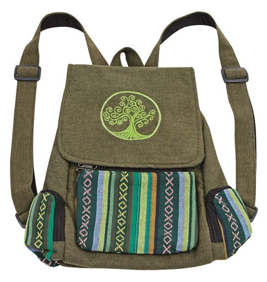 Awesome back pack with 3 pockets and a great embroidery