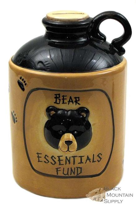 Bear Essentials Coin Bank