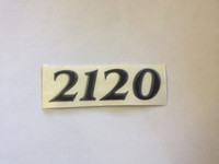 2120 PARKER HULL DESIGNATION DECAL