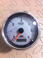 "TACHOMETER 4"" 6000 RPM WITH HOUR METER / 13.01862"