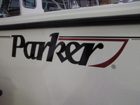 "PARKER LOGO - LARGE DECAL *  31""L X 6 3/4""H"