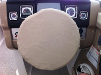 MAHOGANY STEERING WHEEL COVER