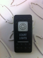 COURTESY LIGHTS SWITCH COVER