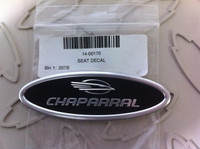 CHAPARRAL SEAT DECAL
