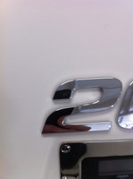 CHAPARRAL LOGO NUMBER 2  CHROME INJECTION MOLDED