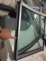 "1/4""  X 3/4"" foam tape ( hinged side of the center walk thru windshield ) 41100049"