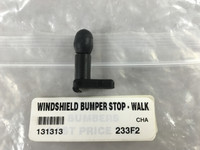 WINDSHIELD BUMPER STOP - WALK THRU DOOR